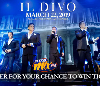 Register to Win tickets to see IL Divo
