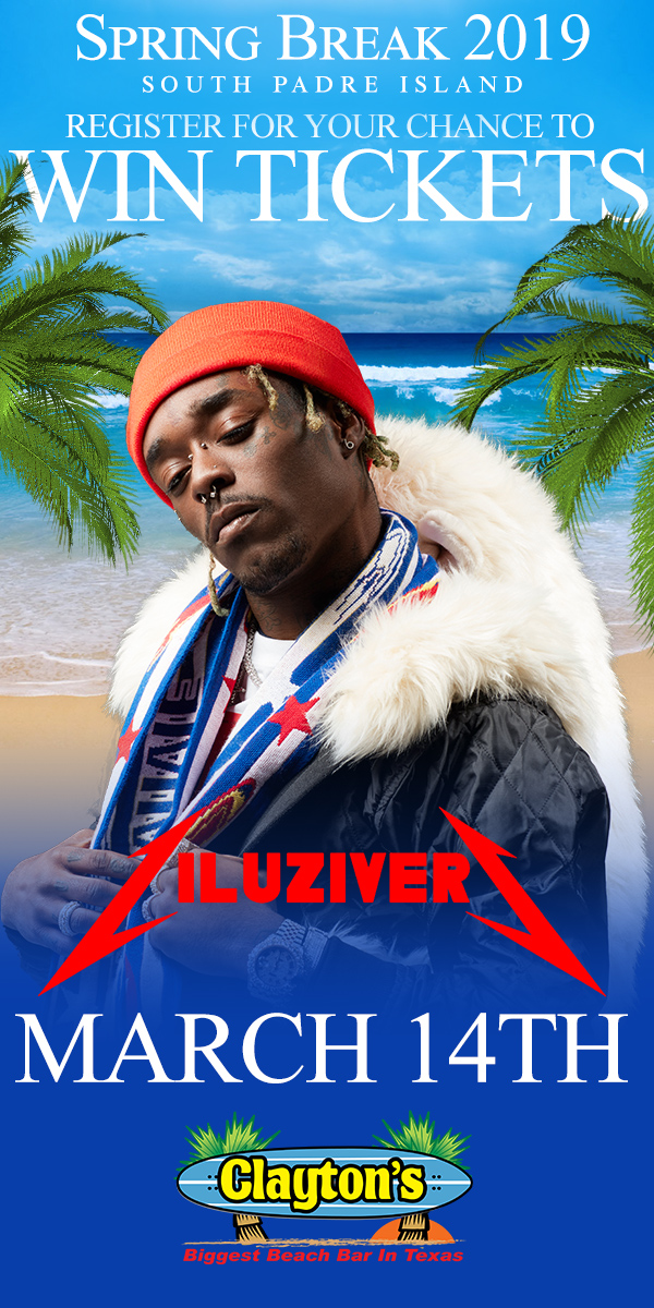Register to Win tickets to see Liluziver at Claytons SPI