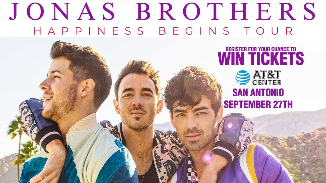 Register for your chance to win tickets to see the Jonas Brothers in Concert