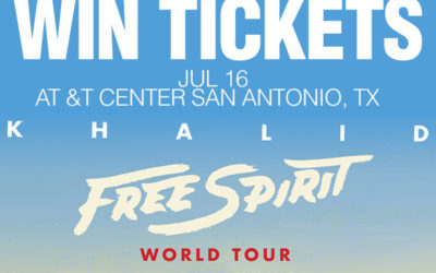 Register for your chance to win tickets to See Khalid