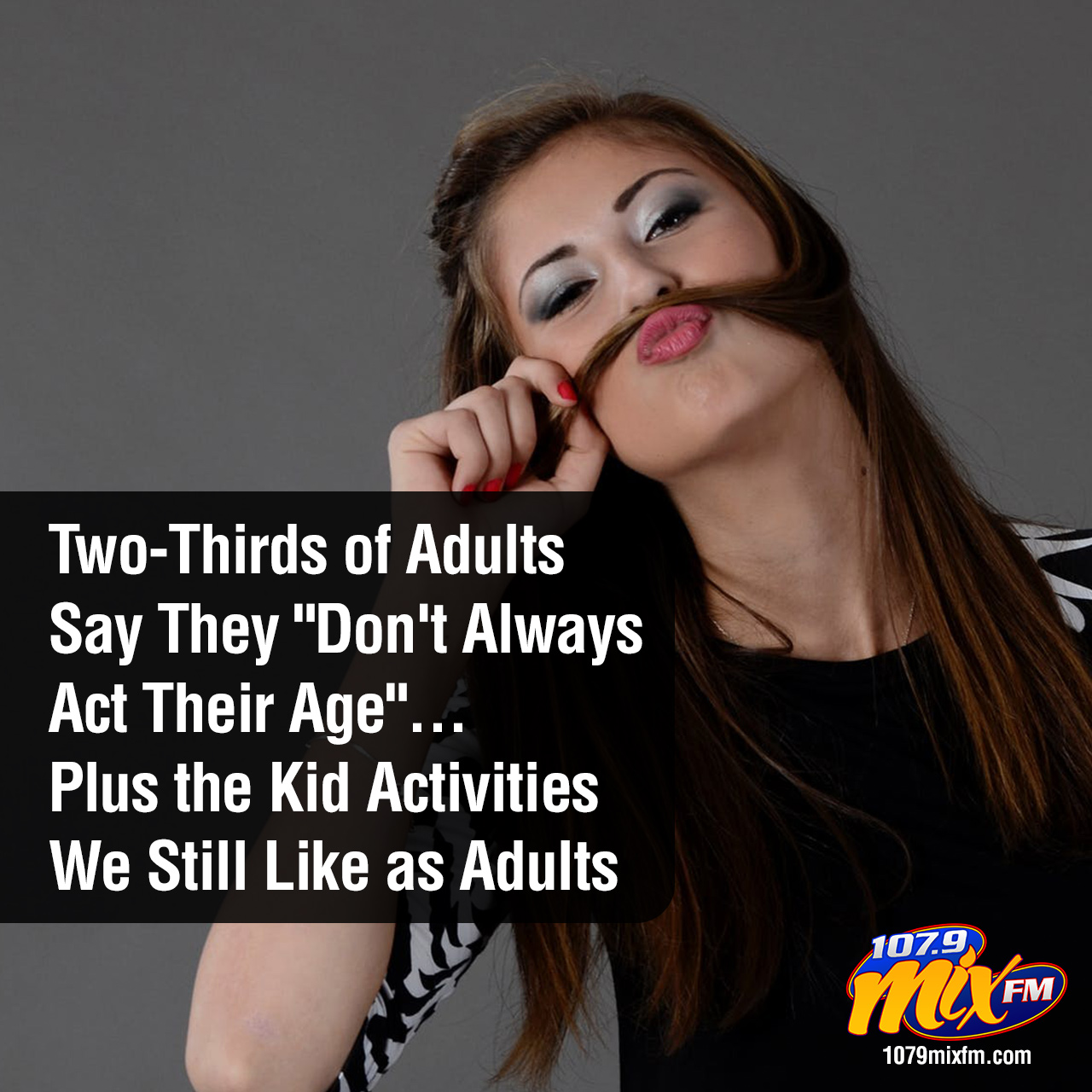 "Two-Thirds of Adults Say They ""Don't Always Act Their Age"" . . . Plus the Kid Activities We Still Like as Adults"