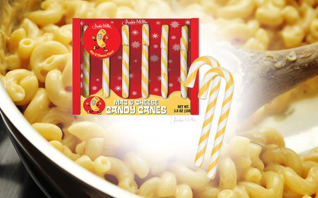 Mac and Cheese-Flavored Candy Canes Now Exist?