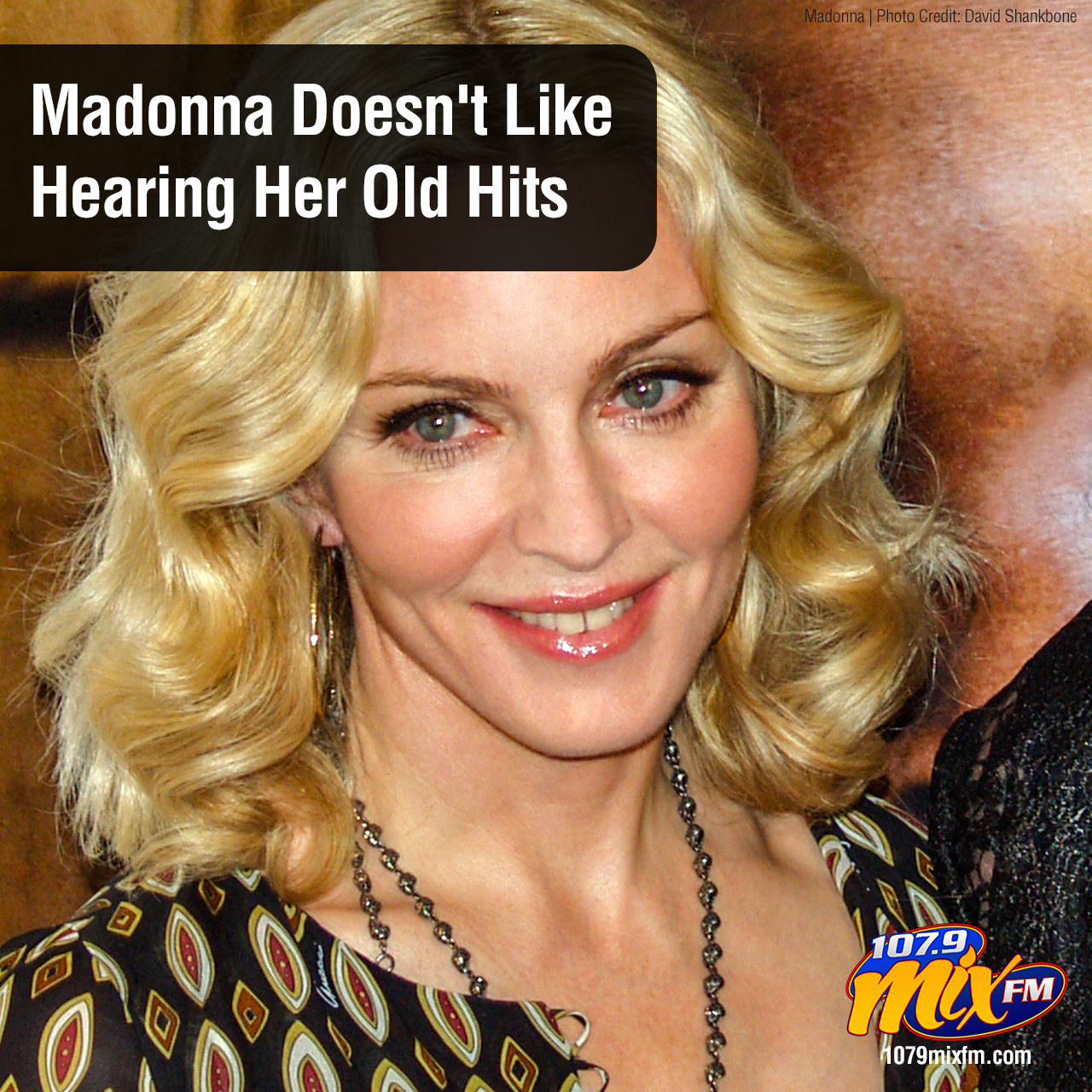 Madonna Doesn't Like Hearing Her Old Hits