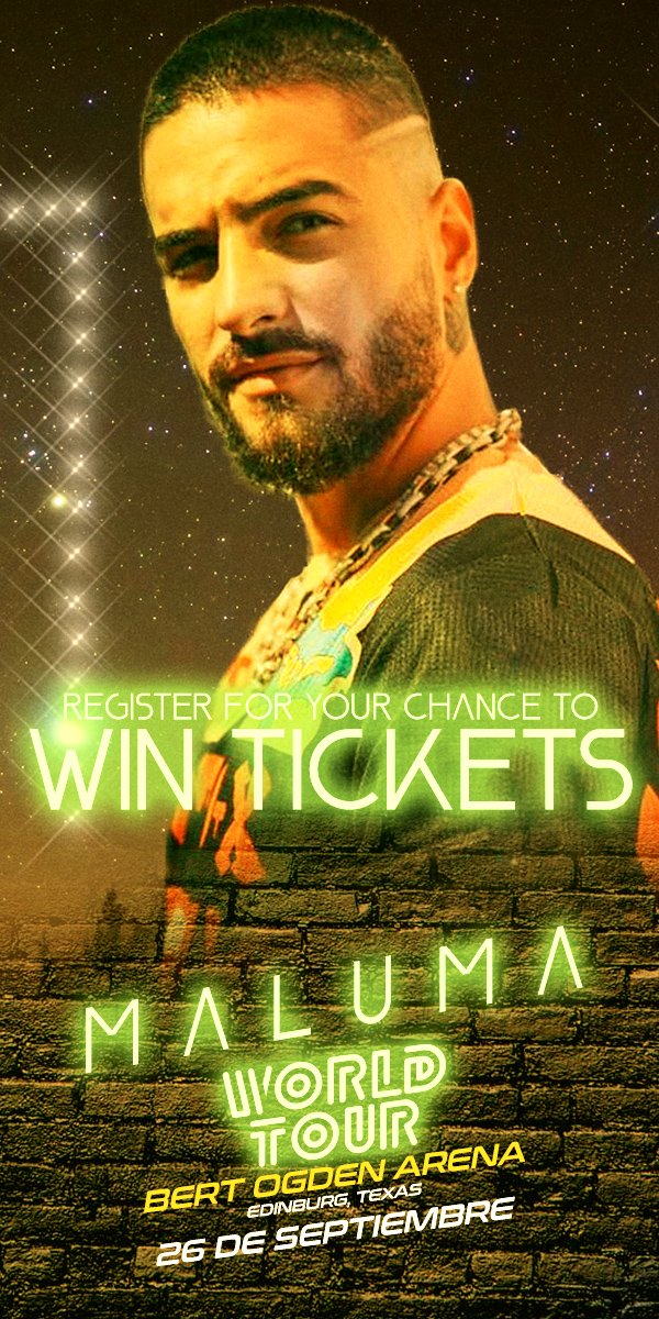 Register for your chance to win tickets to see Maluma!