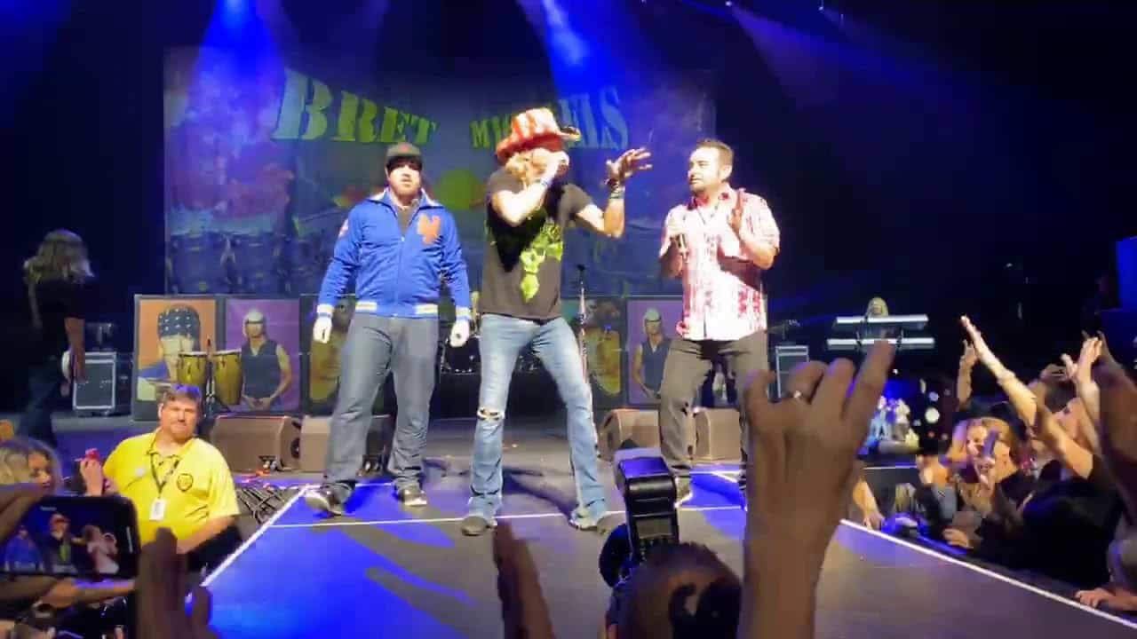 Watch Joey and Chris from 'N Sync Team Up with Bret Michaels from Poison