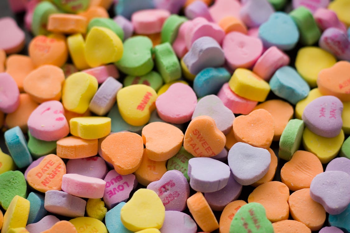 Where are the candy hearts? First time they Won't Be on Sale This Valentine's Day