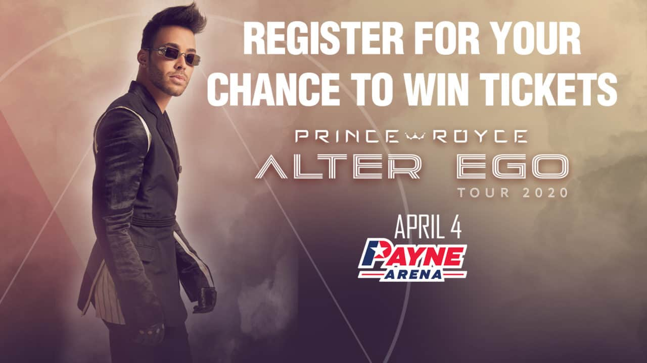 Register for your chance to win tickets to see Prince Royce 1