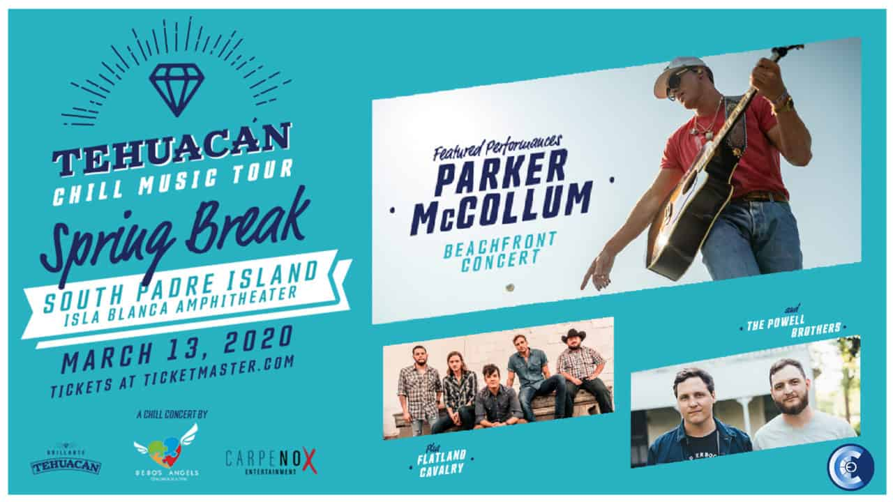 Tehuacan Chill Music Tour Featuring Parker McCollum, Flatland Calvary, and the Powell Brothers 1