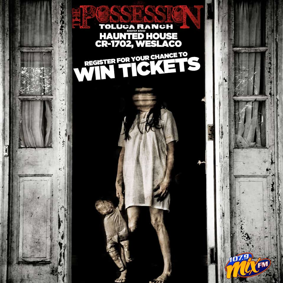 Register for your chance to win tickets to visit the Toluca Ranch Haunted House!