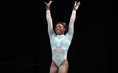 US Gymnast Sticks One of the Hardest Vaults In The World (Video)