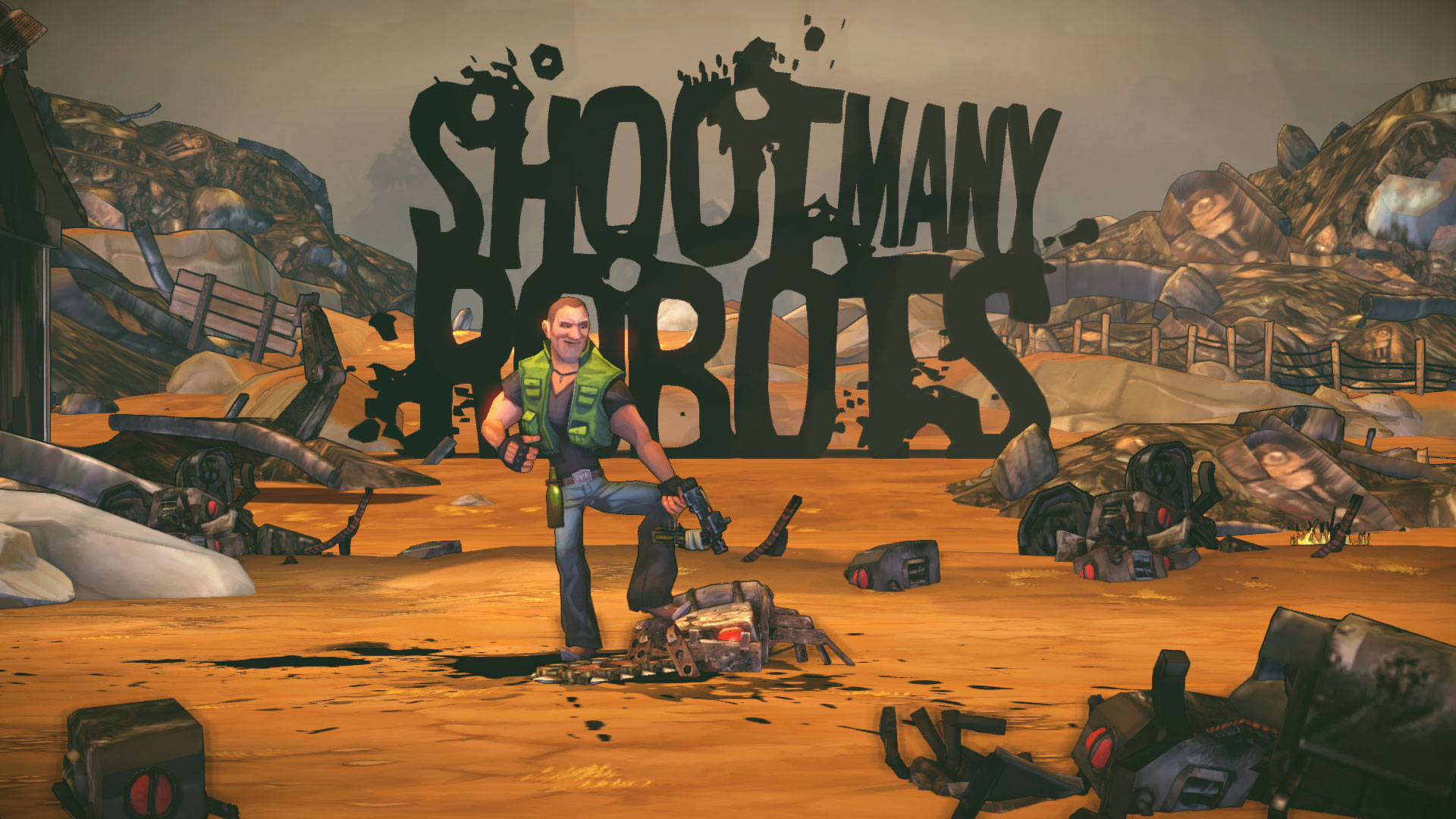 shoot many robots screenshot