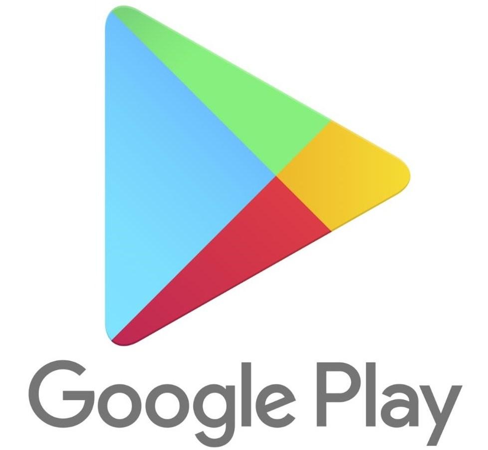 Google play logo header