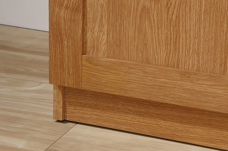 Sauder 419188 Storage Cabinet Highland Oak Finish