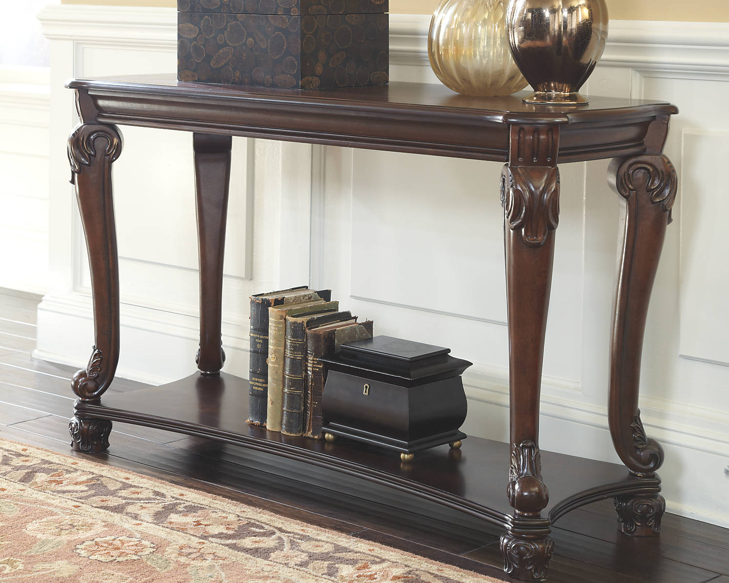 Signature Design by Ashley Furniture Norcastle Sofa Table ...