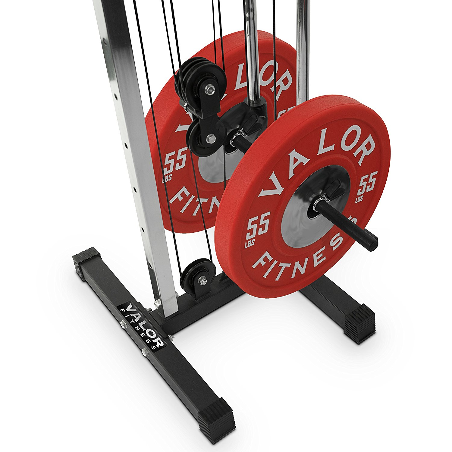 Valor Fitness Bd 62 Wall Mount Cable Station With Double