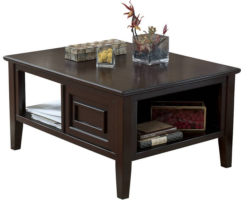 Charmant ... Larimer Coffee Table In Dark Brown New. Product Description: