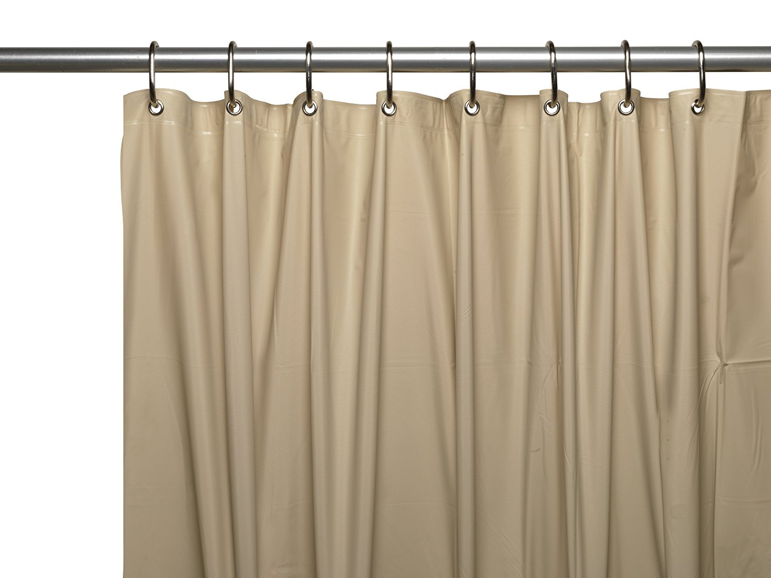 Shower Curtains: Carnation Home Fashions 72 By 84-Inch Waterproof Vinyl