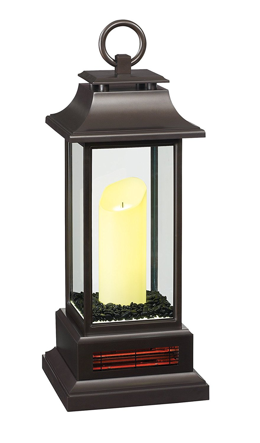 """Portable Electric Radiant Floor Heating For Under Area: Duraflame 10ILH10001 27"""" Portable LED Electric Candle"""