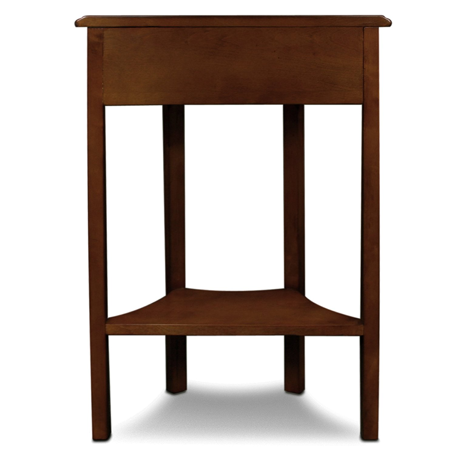 Leick Furniture Demilune Hall Stand With Drawer In Medium