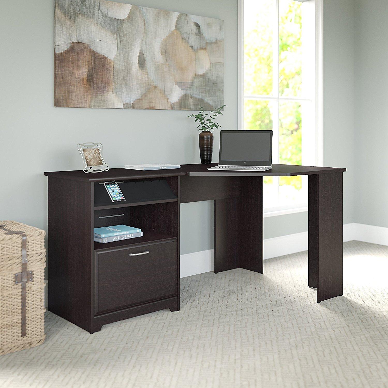 Bush Industries Wc31815 03 Cabot Corner Desk With Drawer