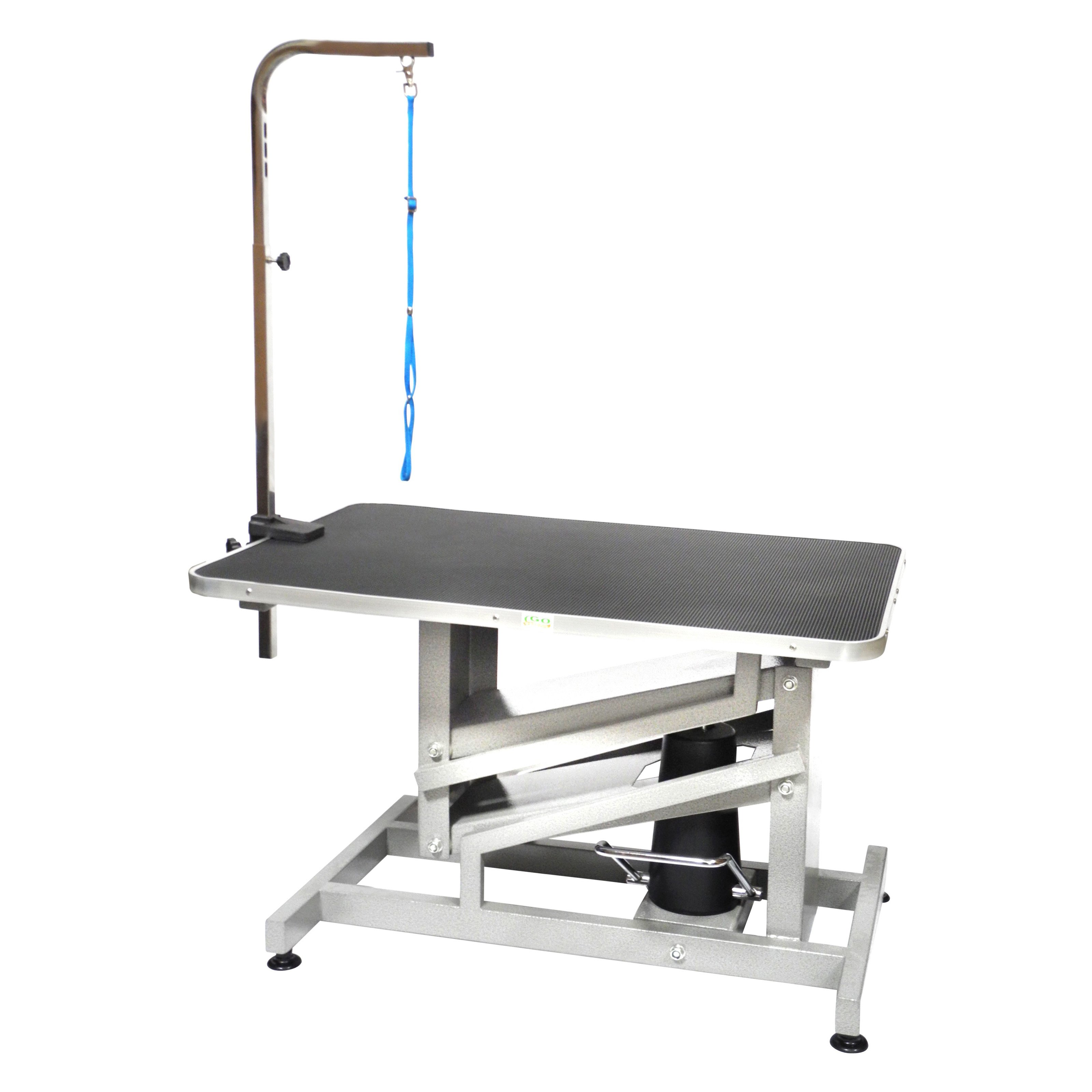 Enjoyable Details About Go Pet Club Hgt 509 36 Inch Z Lift Hydraulic Pet Dog Grooming Table With Arm Interior Design Ideas Tzicisoteloinfo