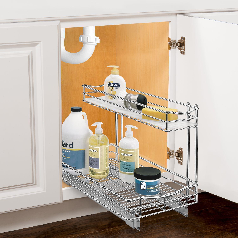 Professional Kitchen: Lynk Professional Slide Out Under Sink Cabinet Organizer