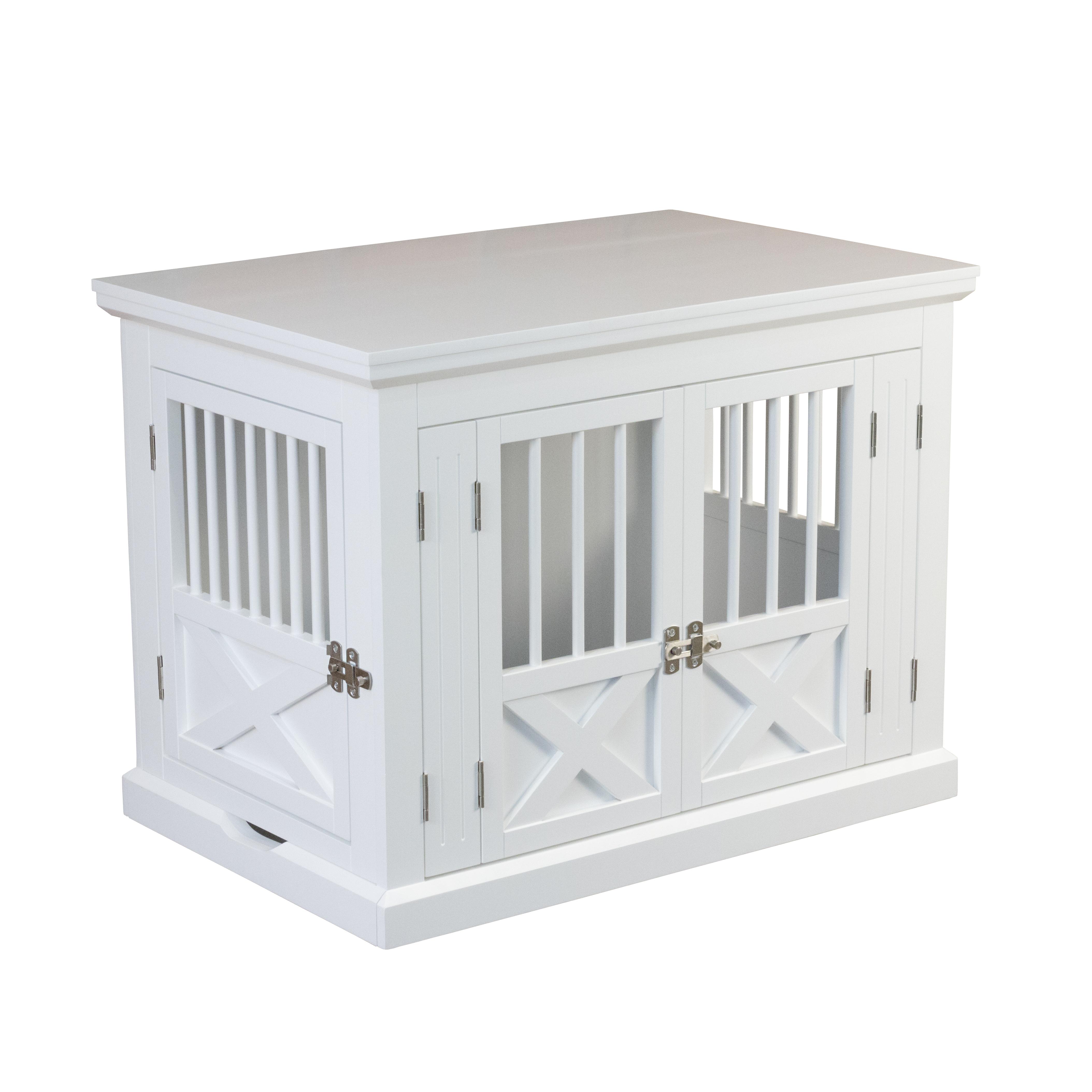 Triple Door Dog Crate White Medium 812482022988 Ebay