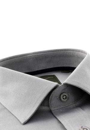 Grey Structured Basket Weave