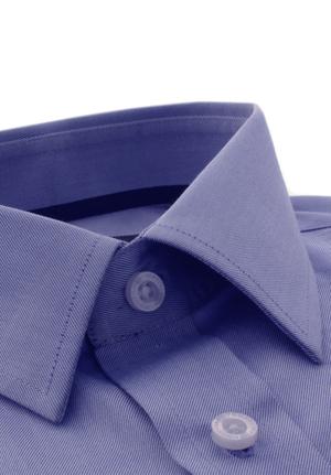 Blue luxury twill