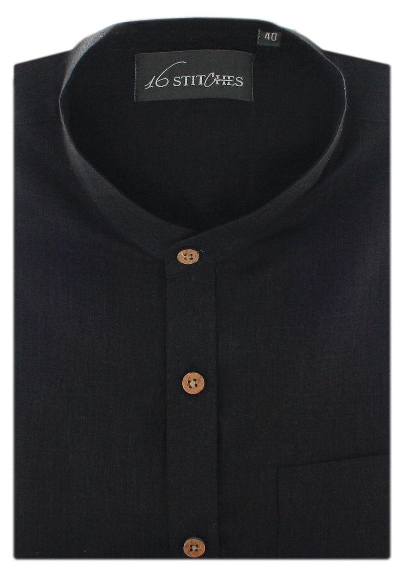 Classic Black Linen