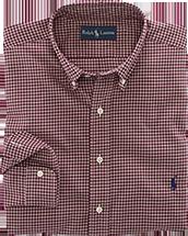 Custom-Fit Checked Dress Shirt