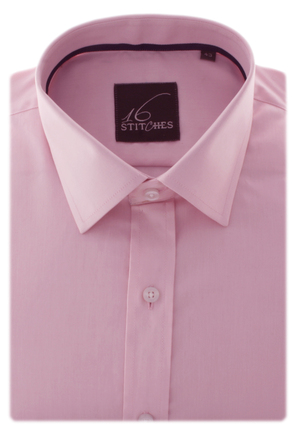Superfine Pink Pinpoint Oxford
