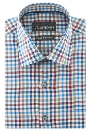 Trendy Twill Checks Shirt