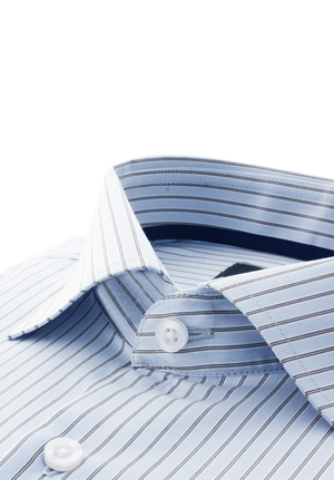Blue/ White/ Black Multi Stripes