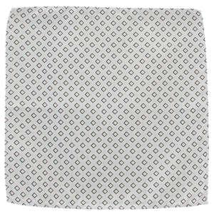 Silver Squares Microfibre