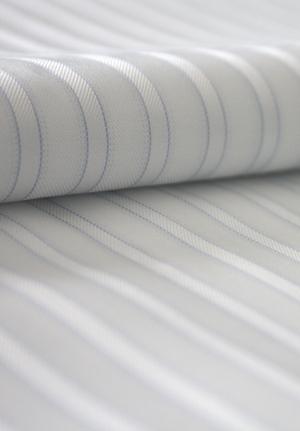 Tonal Stripes in Satin Twill