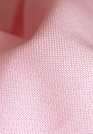 Pink Structured Basket Weave