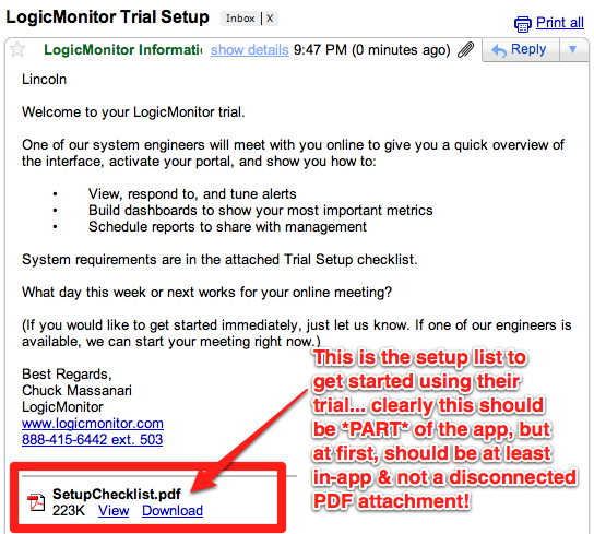 logic monitor attaches getting started guide 5 Rules for SaaS Email Marketing and Transactional Messages
