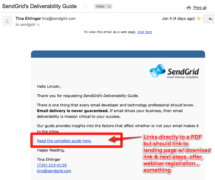 sendgrid email links to pdf 5 Rules for SaaS Email Marketing and Transactional Messages