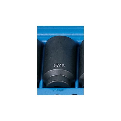 Grey Pneumatic SOC 1-7/16 1/2D IMP 6PT DP