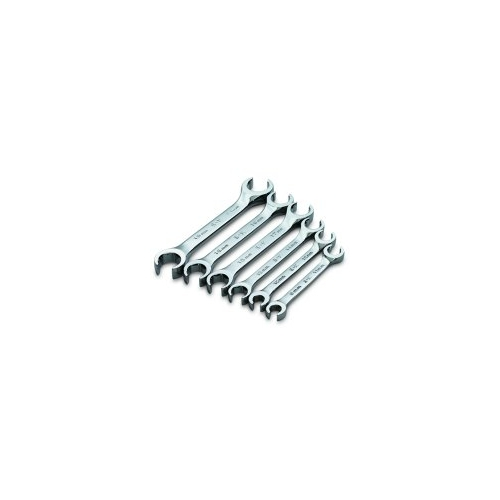 S K Tools Tools 6 Piece SuperKrome Metric 15 Degree Offset Flare Nut Wrench Set - SKT378 at Sears.com