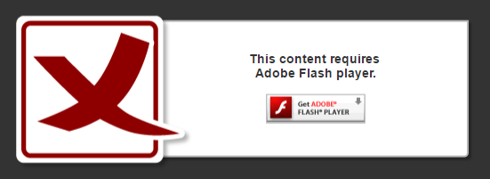 This content requires Adobe Flash Player