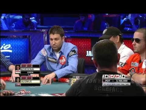 WSOP 2012 Final Table - Part 1