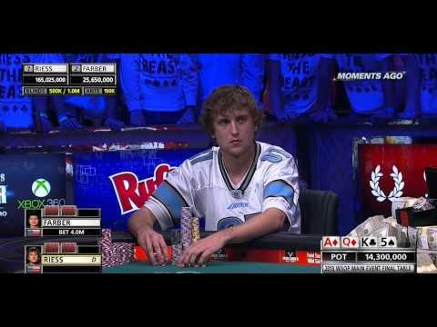 WSOP 2013 Main Event Final Table - Day 2