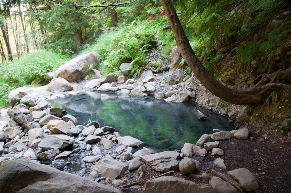 Olympic Hot Springs