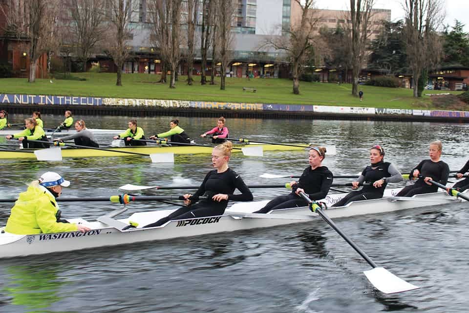 University of Washington Women's Rowing Team