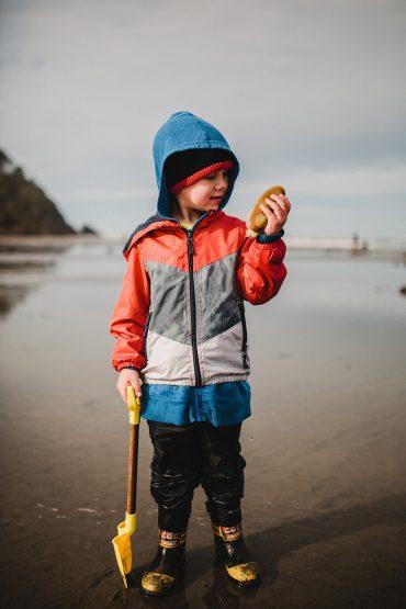 Razor Clams on the Washington Coast