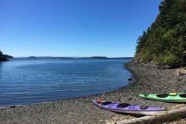 Kayak's at Orcas Island