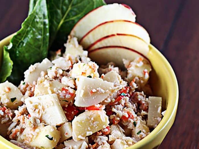 apple crab salad