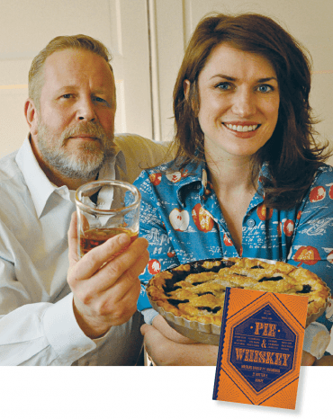 Sam Ligon and Kate Lebo, founders of Pie & Whiskey, now have a new book.